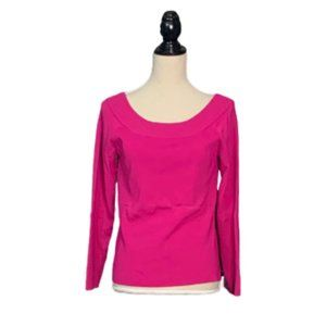 Chico's Pink Spring Sweater Sz 1 (Medium)